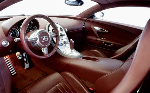 Interior Bugatti Veyron on Traditionally  Bugatti Veyron Interior Was Done In Brushed Aluminium